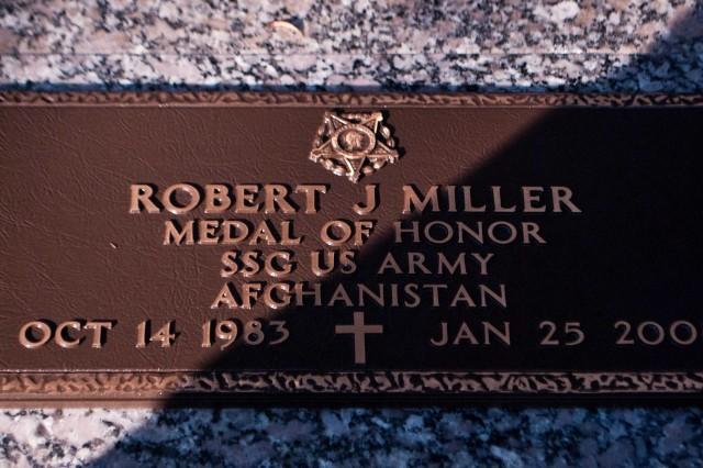 Staff Sgt. Robert Miller Medal of Honor Headstone