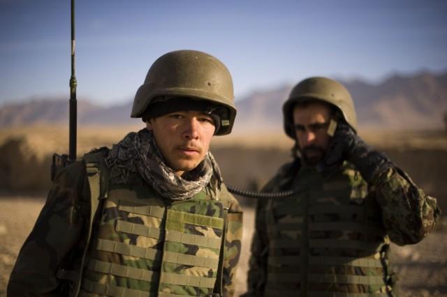 Training Afghans 'Shohna ba Shohna,' 'Shoulder to Shoulder'