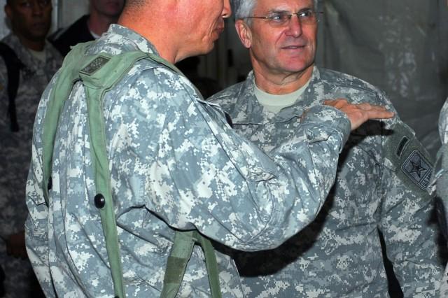 CSA visits 3rd Brigade Combat Team at NTC