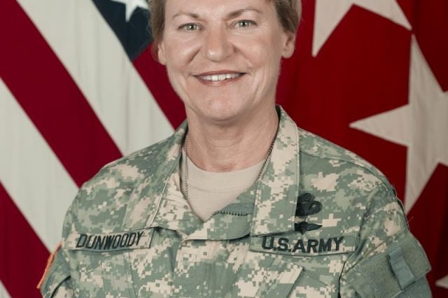 General Ann E. Dunwoody, U.S. Army Materiel Command commanding general