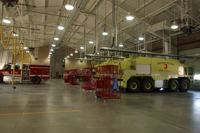 Fire station at Beale Air Force Base