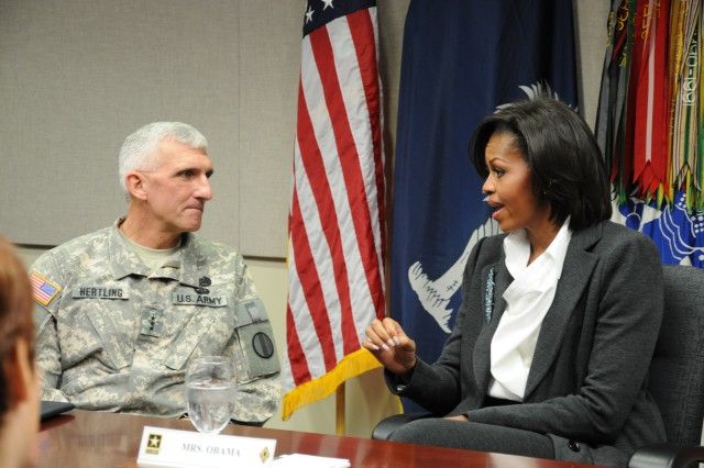 First lady visits Fort Jackson