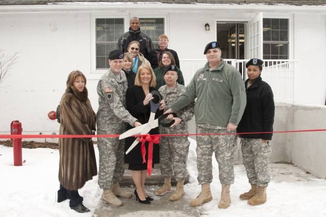 Community Readiness and Support Center ribbon cutting