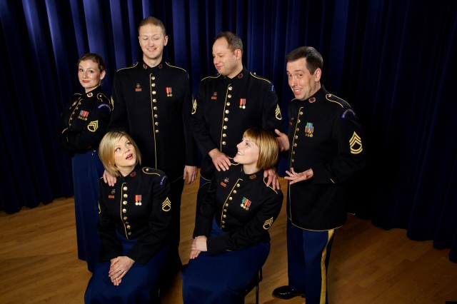 Members of the Soldiers' Chorus will perform Cosi Fan Tutti at the Kennedy Center Millennium Stage Feb. 8.  This is just one example of the small-group performances that will be commonplace in 2011 for The United States Army Field Band.