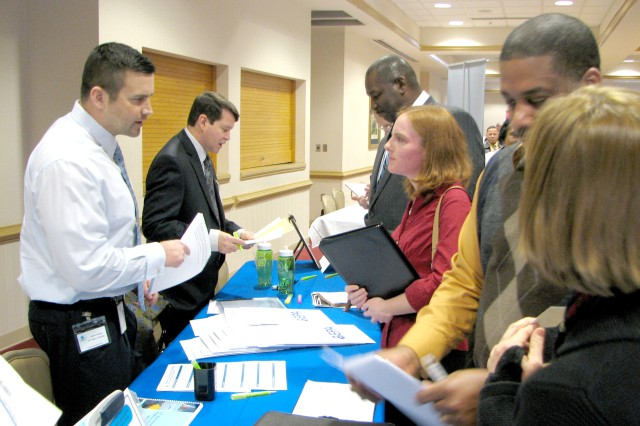 McPherson Federal job fair brings employers and potential employees together