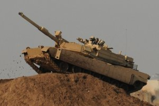 Iraqi tanker drives Abrams