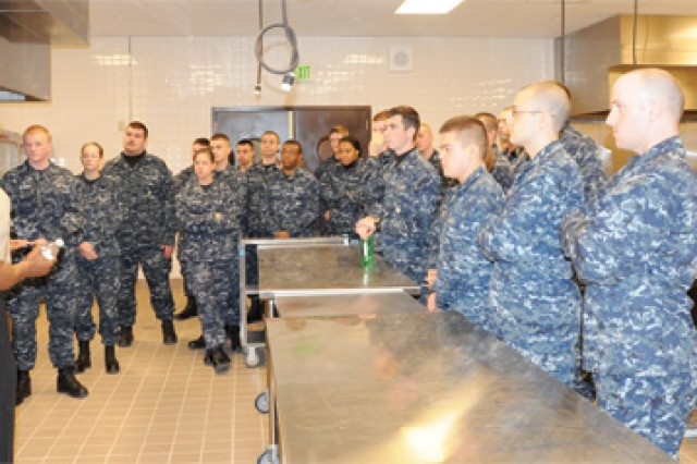 Navy starts culinary classes at Fort Lee