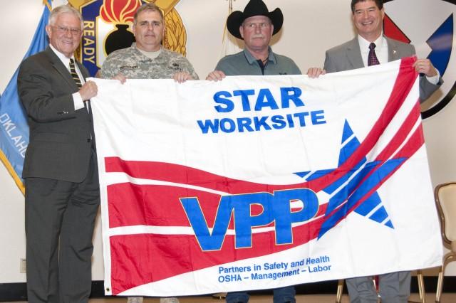 McAlester AAP Receives Prestigious Safety Award