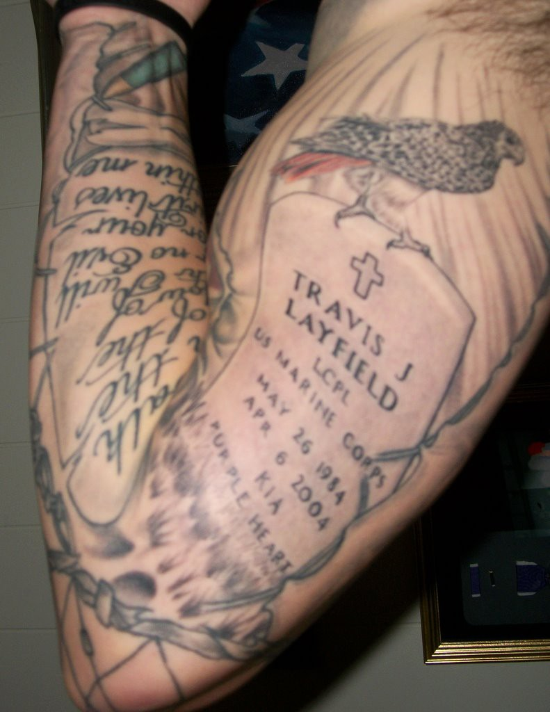 Tattoos of Remembrance | Article | The United States Army
