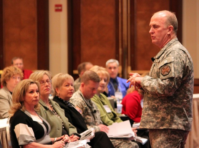 Army Family Action Plan delegates tackle 88 issues during Super Bowl Week