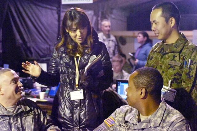 Interpreters bridging the communication gap