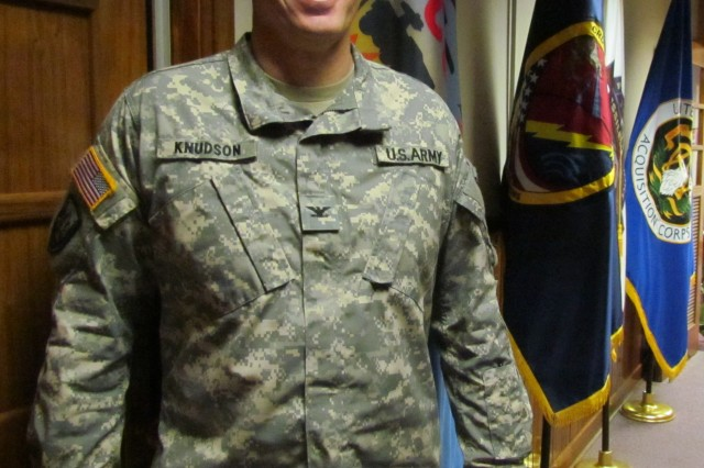 Col. Ole Knudson will reach a milestone in his career Friday when he is promoted to brigadier general. He is the program executive officer for missiles and space.