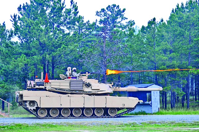 1st Cavalry Division Soldiers execute a heavy live-fire exercise during their rotation at JRTC in June.