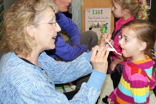 Healthy smiles -- dental staff provides free screenings at CDC
