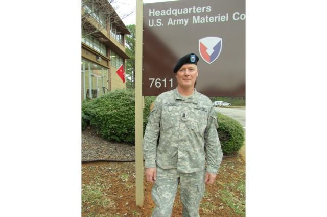 Command Sgt. Maj. Jeff Mellinger