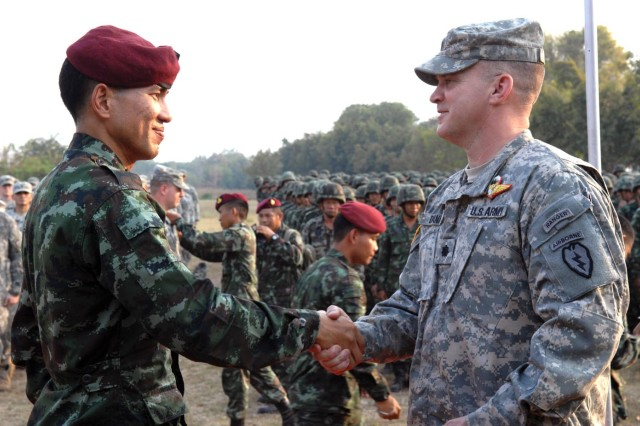 Alaska paratroopers land in Thailand | Article | The United States Army