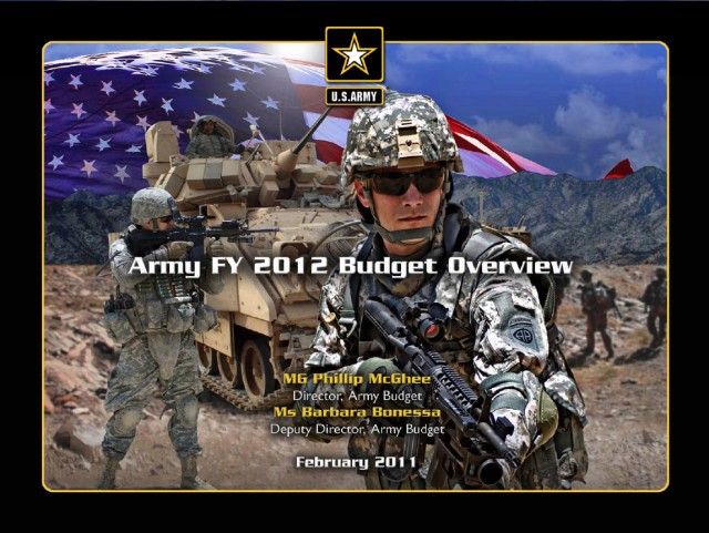 Army FY 2012 Budget Overview