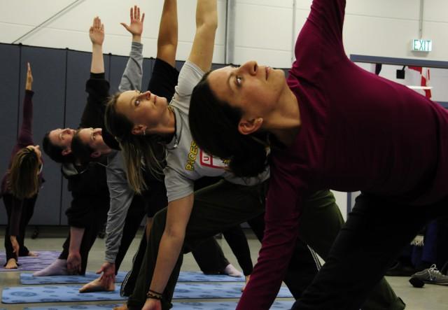 Finding balance: U.S. Army Garrison Grafenwoehr creates a community of yoga instructors