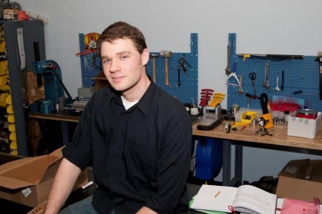 Adam Druga, ARDEC engineer