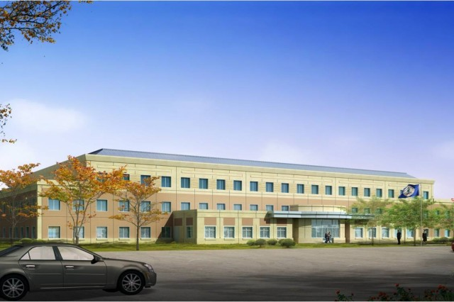 Architect's rendering of new OCAR facility