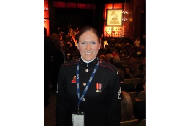 Staff Sgt. Brandie Lane, Grammy winner