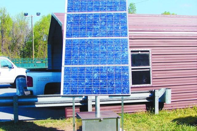 Zero Waste: Post uses solar power, efficient equipment to save money