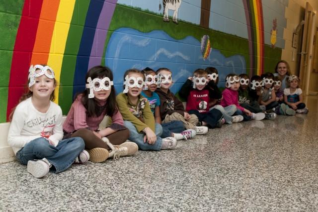 Fort Bragg kindergartners celebrate day of