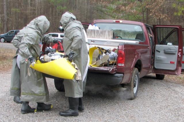 ANCA, depot volunteers test disaster response skills