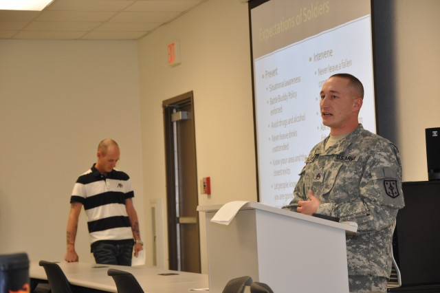 Fort Leonard Wood soldiers get SHARP on sexual assault training