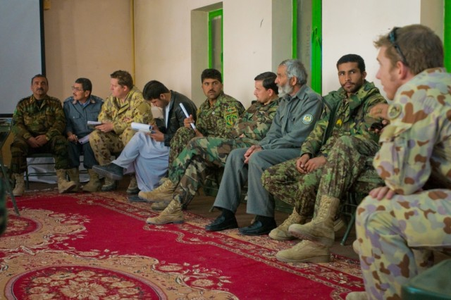 Afghans to take lead in counterinsurgency operations