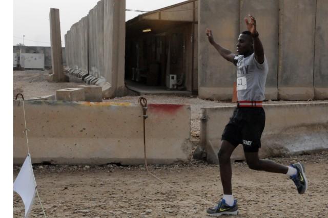 Base in southern Iraq hosts Austin Marathon