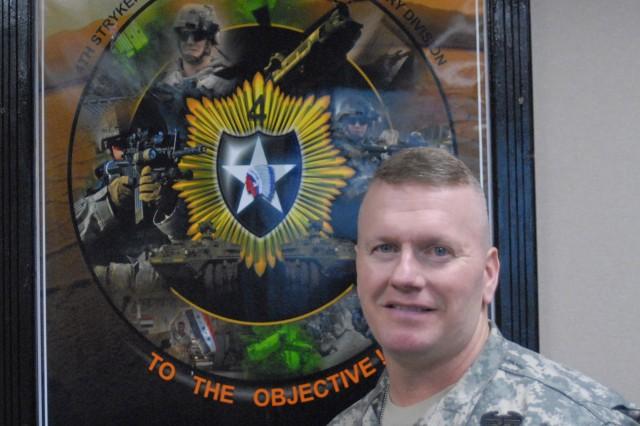 Command Sgt. Maj. John Troxell