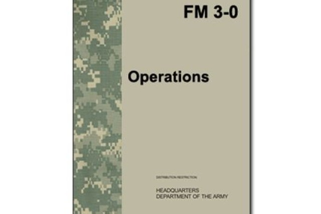 Change 1 to FM 3-0 was developed by the Combined Arms Doctrine Directorate (CADD), a major subordinate activity under the Combined Arms Center (CAC), at Fort Leavenworth, Kansas.  FM 3-0 is one of the Army's two capstone doctrinal publications; the other is FM 1, The Army.