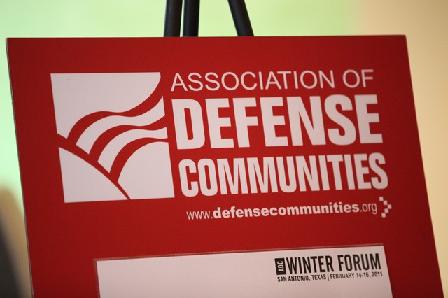 The Association of Defense Communities hosted its Winter Forum in San Antonio, Texas, Feb. 14-16. The event drew more than 400 representatives from businesses and local, state and federal government agencies from around the nation.