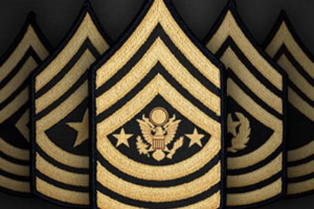 Rank insignia spotlight graphic