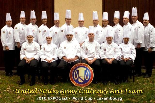 The U.S. Army Culinary Arts Team.
