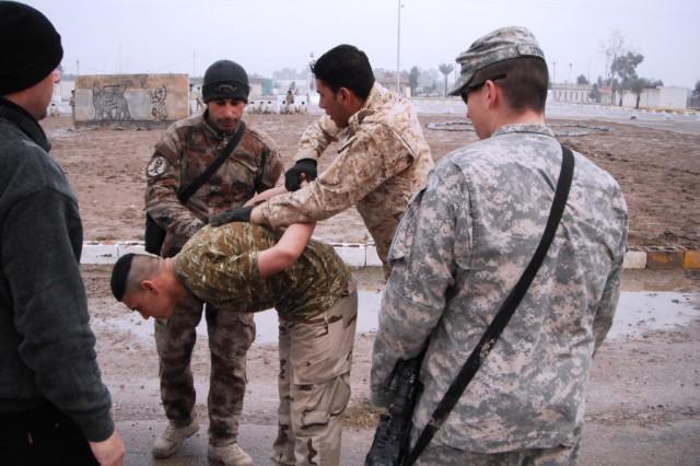 Traffic police training in Iraq