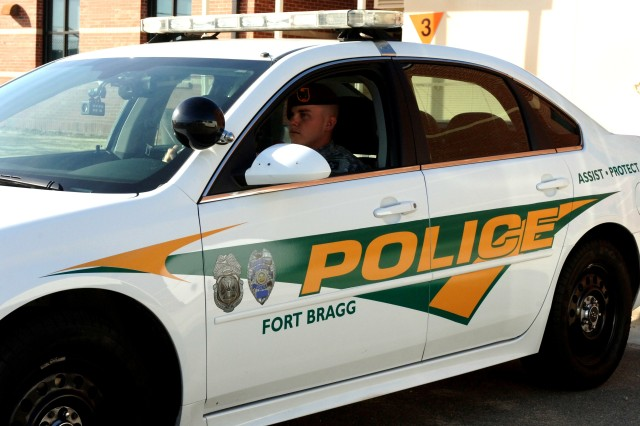Computer upgrades are scheduled to be installed in various Fort Bragg Military Police patrol cars, like the one pictured. These upgrades place a vast online database at the fingertips of Fort Bragg military policemen, allowing them to know vital information quickly and freeing up radio traffic nets.
