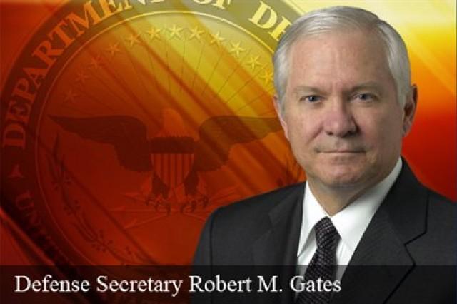SecDef Gates graphic