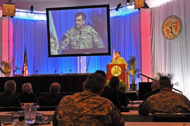 Vice speaks at 2011 AUSA in Fort Lauderdale