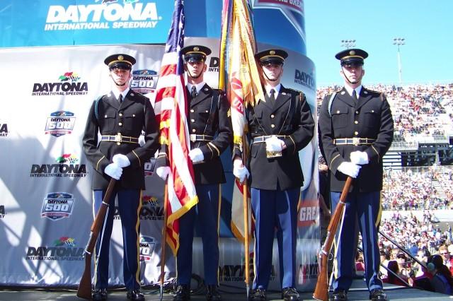 The Old Guard at Daytona 500
