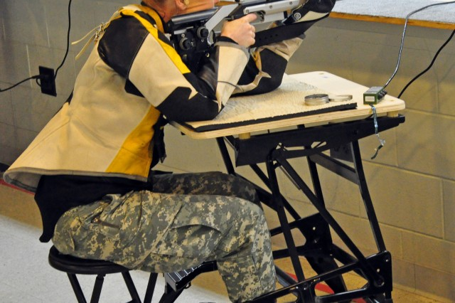 FORT BENNING, Ga. -- Sgt. Kisha Makerney won a gold medal at the 2011 Rocky Mountain Rifle Championships in February, her first competition since joining the U.S. Army Marksmanship Unit late last year. Makerney is part of the landmark USAMU Paralympic section, another opportunity for wounded Soldiers to continue serving on active-duty.