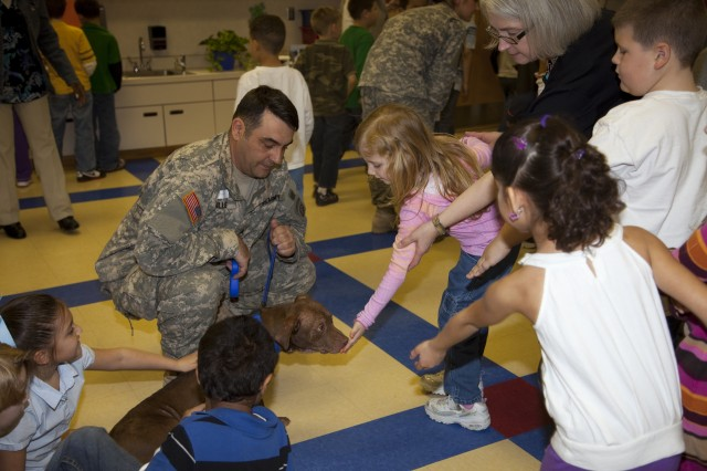 Devers students help Fort Bragg's animals