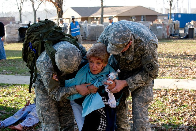 Army National Guard Soldiers from the 54 states and territories will learn to digitally capture patient data and reorder medical supplies with MC4 systems during disaster relief and homeland security missions.