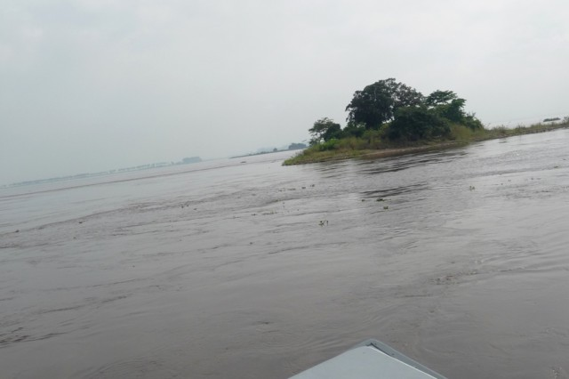 An island in the Congo River.