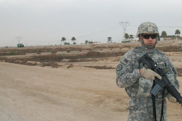 Staff Sgt. Joel Soriano just completed his second tour to Iraq where he supervised Soldiers and civilians responsible for providing base communications.