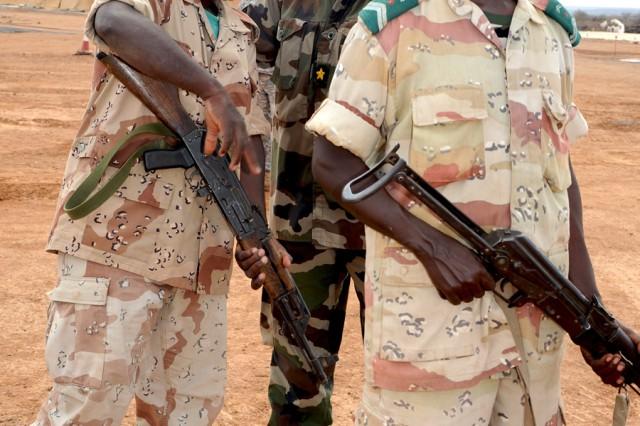 Djiboutian Army rapid response regiment