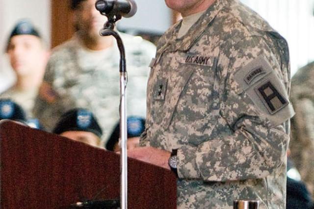 Maj. Gen. Kevin R. Wendel, First Army Division East commander