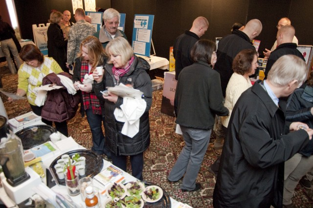 The 2011 Health and Wellness Fair held March 10 at Natick Soldier Systems Center was well attended. More photos may be viewed at http://www.flickr.com/photos/44850268@N06/.