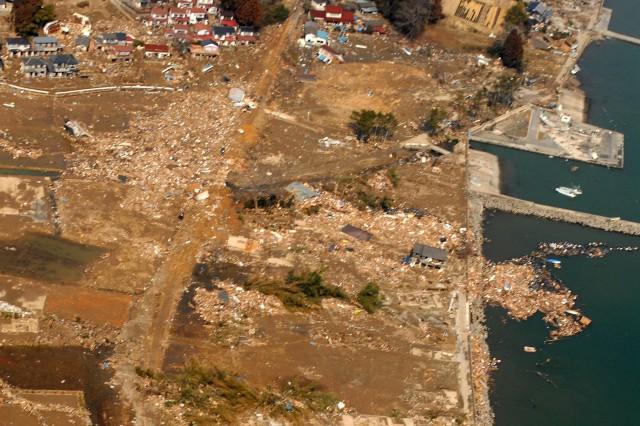 Sendai devastation